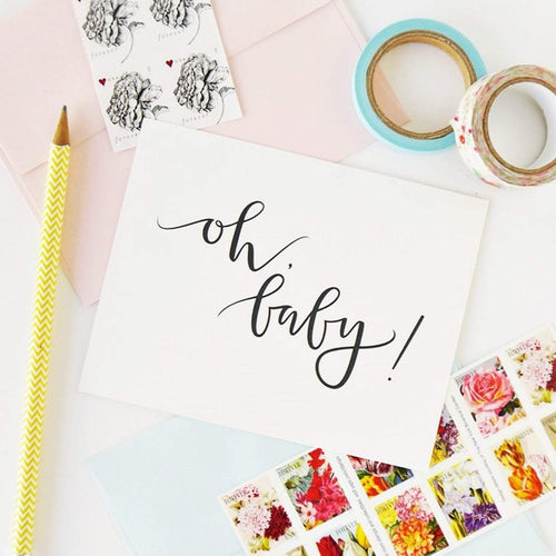 Oh Baby Greeting Card - Blume Market