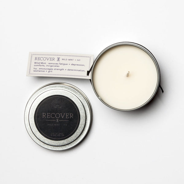 Travel Tin Candles - RECOVER