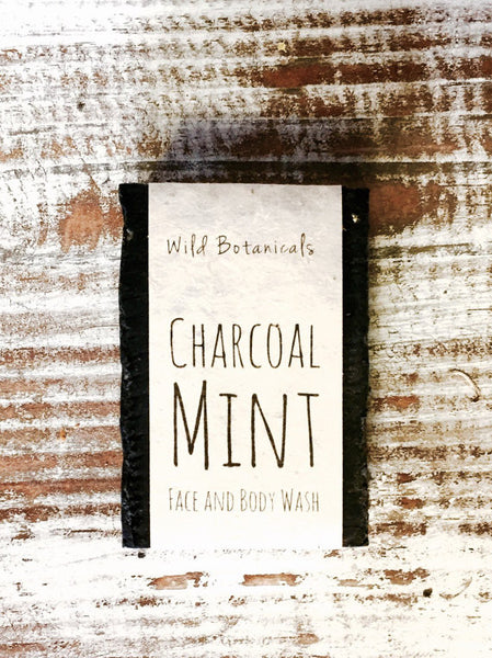 Charcoal & Mint Organic 4oz Bar Soap
