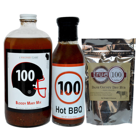 100 Mile Sauce Variety Pack