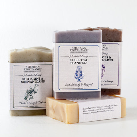 American Provenance + Oil & Ash Men's Soap
