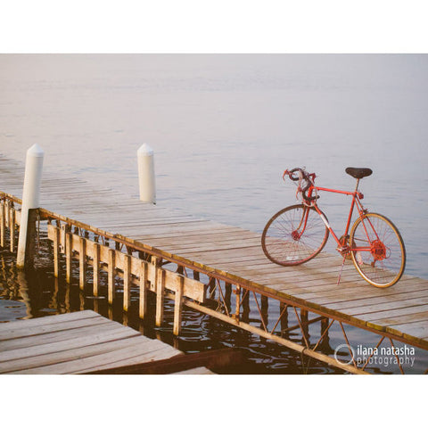 Bicycle at the Memorial Union Photograph