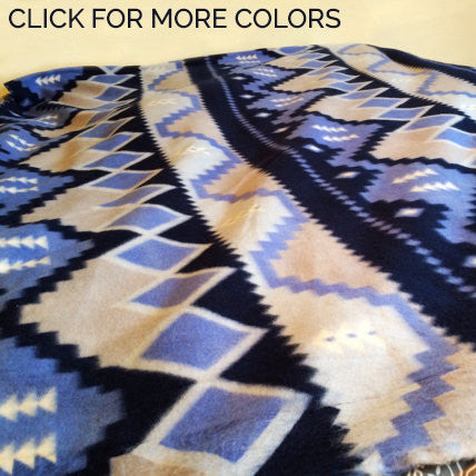Aztec Navajo Native Printed Fleece Blanket