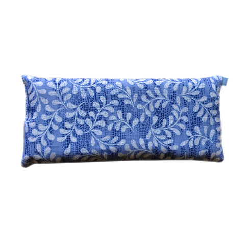 Ocular Siesta Eye Pillow (Blue and White Leaves)