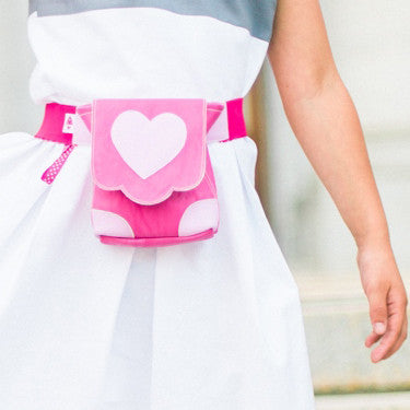 HipCity Sak Follow Your Heart! Bag and Belt
