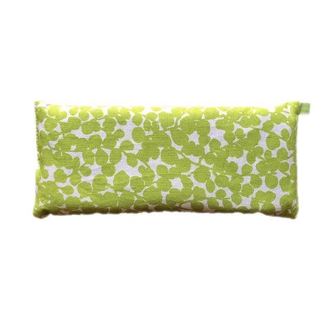 Ocular Siesta Eye Pillow (Light Green Leaves)