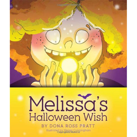 Melissa's Halloween Wish by Dona Ross Pratt