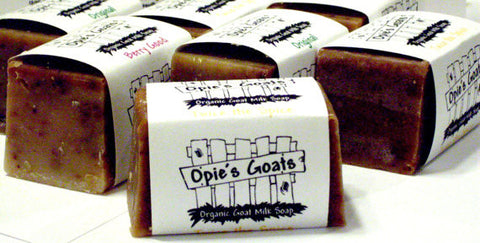 Opie's Goats GT3O. Green Tea & Tea Tree Oil Organic Goat Milk Soap