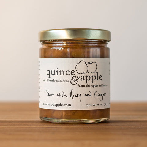 Pear with Honey and Ginger Preserve [6 oz]