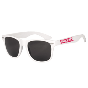 Sconnie Malibu Sunglasses [White]