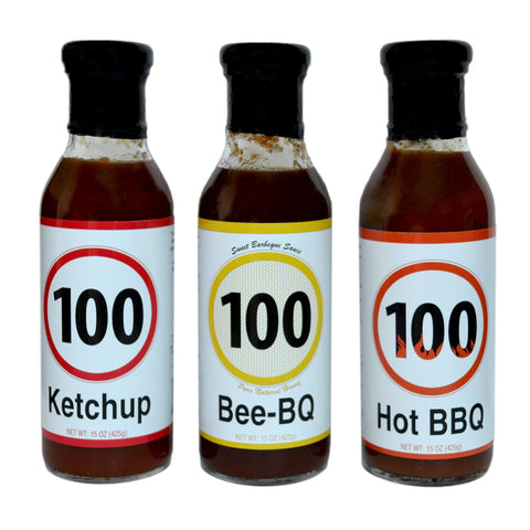 Ultimate Sauce 3-Pack (Ketchup, Honey Bee-BQ & Hot BBQ)
