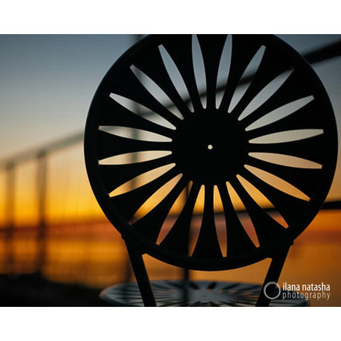 Union Terrace Chair Photograph
