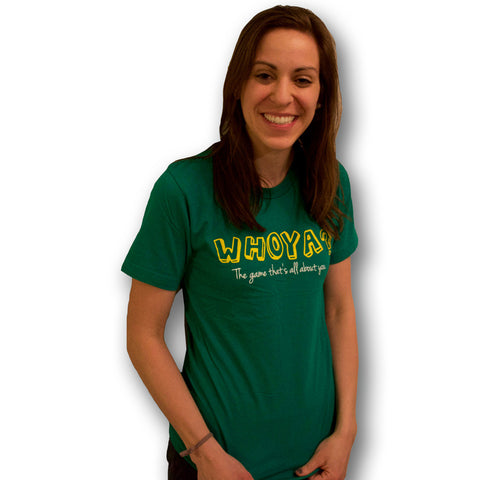 Whoya? The Game Mens/Unisex T-Shirt Green
