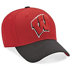 Wisconsin Badgers Two Tone Cap
