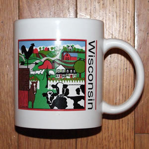 Wisconsin Country Mug