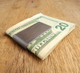 Wisconsin Copper Money Clip Embossed