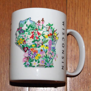 Wisconsin Wildflowers Mug