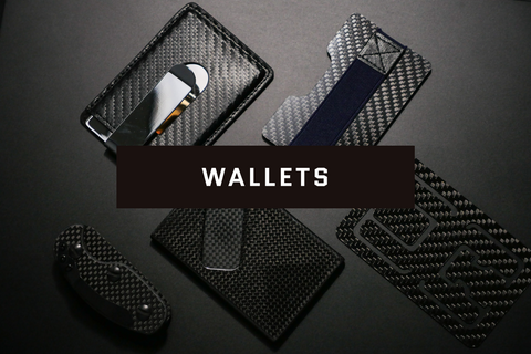 Carbon Fiber Wallets & Accessories