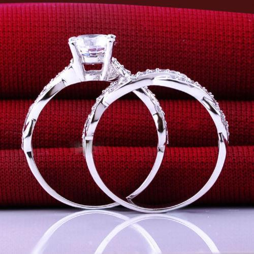 32325997650 - Infinity Knot Two Piece Promise Ring