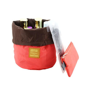 32362136541 - Barrel Shaped Cosmetic Bag