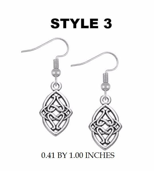 32653392232 - Irish Knot Hanging Earrings