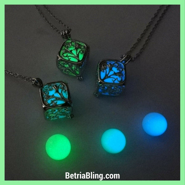 32658034759 - Glow In The Dark Tree Of Life Necklace