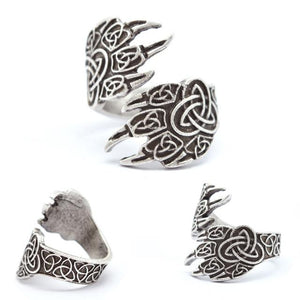 32779036010 - Celtic Wolf Adjustable Ring