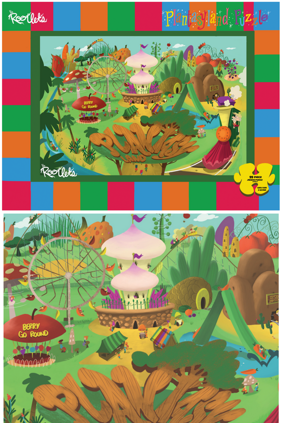 Plantasy Land 99-Piece Jigsaw Puzzle