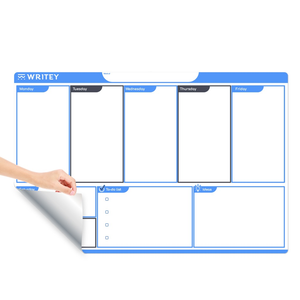Shop Whiteboard Calendar Weekly Monthly Planners Writey