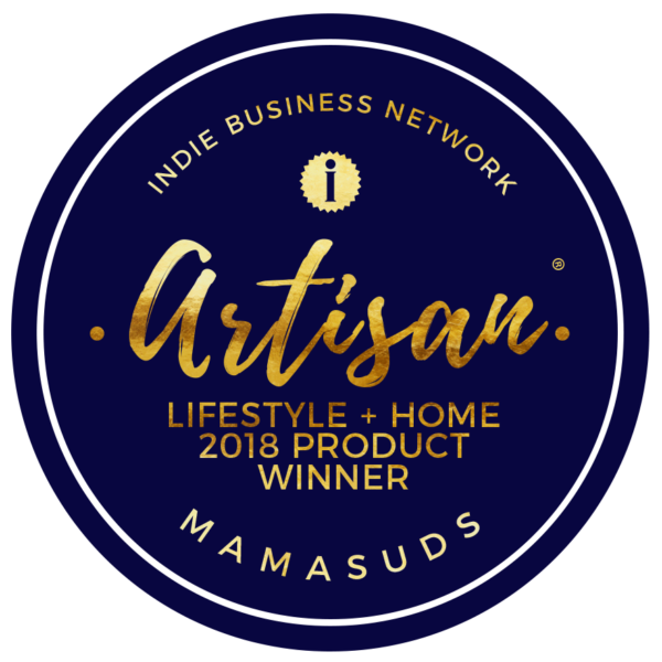 2018 Indie Business Network Artisan of the Year Award Lifestyle and Home