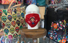 Load image into Gallery viewer, Frida Kahlo Embroidered Mask