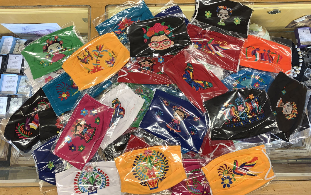 Mexican Embroidered Masks - MYSTERY GRAB BAG