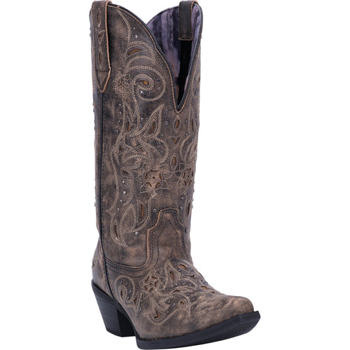 Wide Calf Leather Boot by Laredo