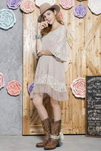 Load image into Gallery viewer, Lace Accent Dress