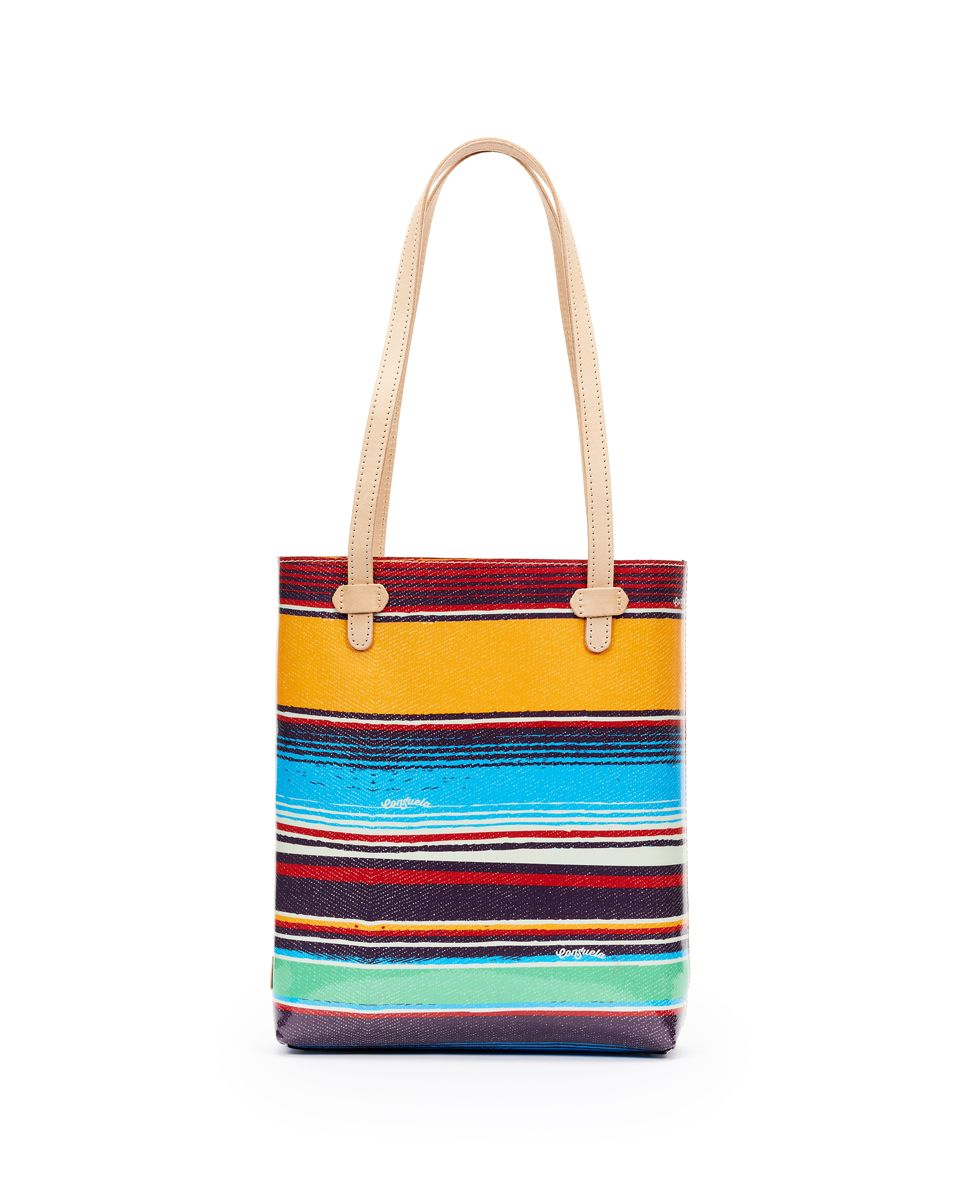 Deanna Canvas Stripe Everyday Tote