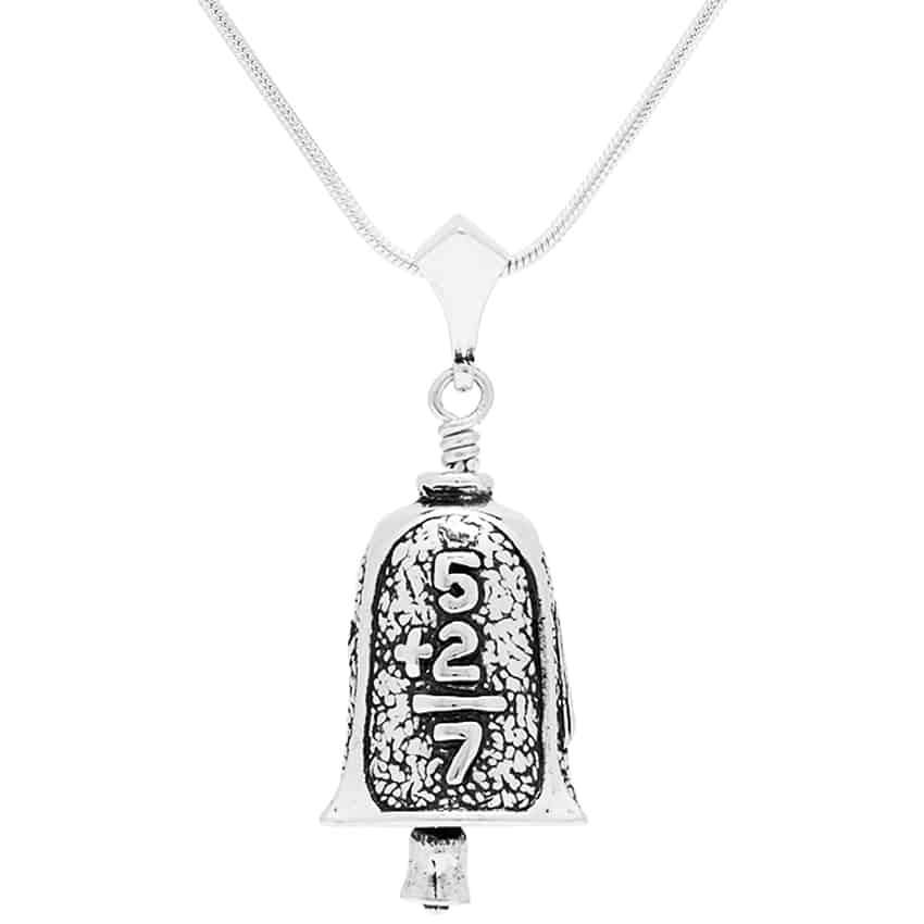 Teacher Bell Pendant w/ 22