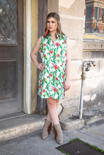 Load image into Gallery viewer, Cactus Flower Tunic Dress
