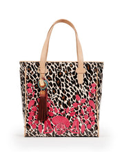 Load image into Gallery viewer, Seffie Brown Leopard Classic Tote