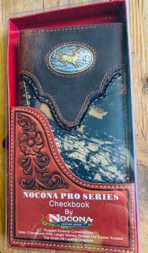 Nocona Pro Series Rodeo Wallet & Checkbook