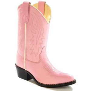 Old West Girls Pink Cowgirl Boot