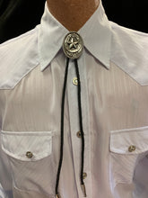 Load image into Gallery viewer, Oval Horse Shoe & Star  Bolo Tie