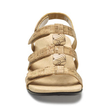 Load image into Gallery viewer, Rest Amber Gold Cork Sandal