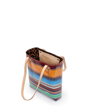 Load image into Gallery viewer, Deanna Canvas Stripe Everyday Tote