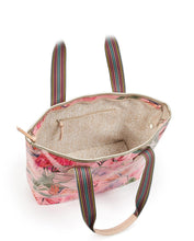 Load image into Gallery viewer, Brynn Flamingo Zipper Tote