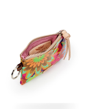 Load image into Gallery viewer, Trista Busy Floral Teeny Pouch