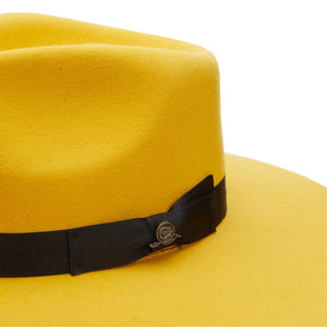 Yellow Charlie 1 Horse Highway Felt Hat