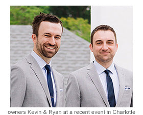 Kevin and Ryan at a recent event in Charlotte