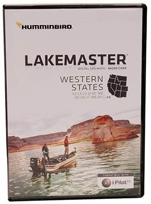 Humminbird 600040-2 SmartStrike Western States Map Card