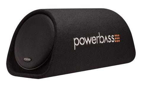 Powerbass Single 8-Inch 150W Amp Enclosure