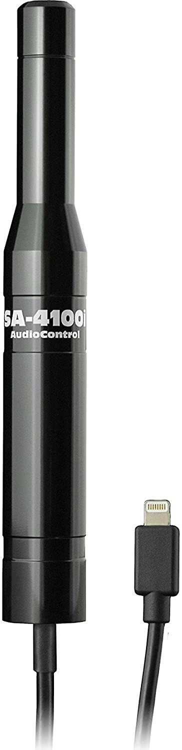 AudioControl SA-4100i Omni-directional Audio Test and Measurement Microphone for Apple / iOS Devices